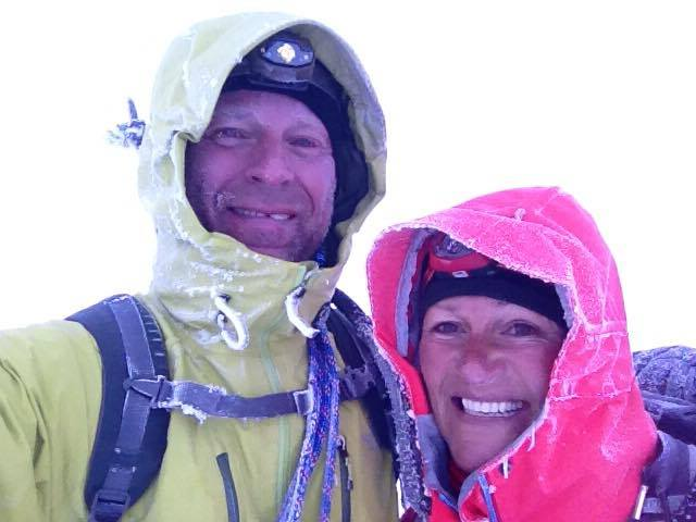 First Mont Blanc ascent August 1. 2014