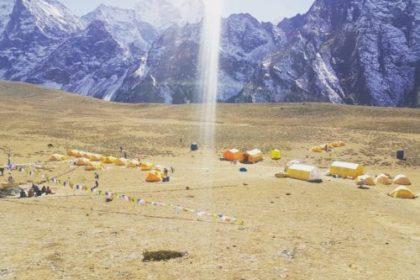 Ama Dablam Base Camp@Nicholas McLaren