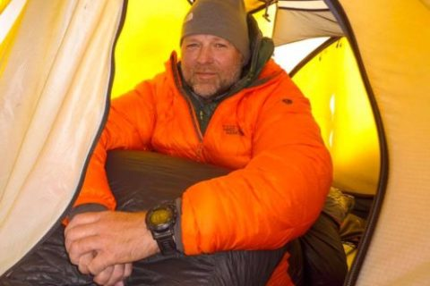 Resting in Camp 1 @Ben Clayton-Jolly