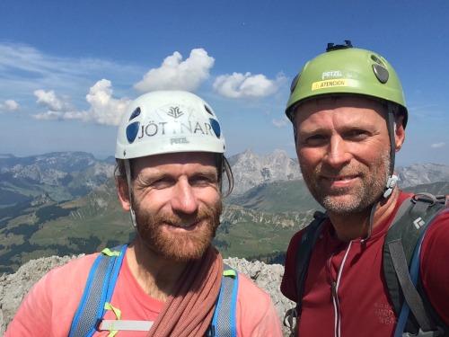 Climbing La Mamule, Aravis